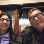 Claudia Urbina y Francisco Moore papis de Leticia